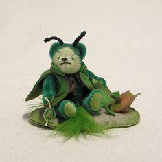 Kleine Reblaus 14 cm<br>Teddybär von Hermann-Coburg