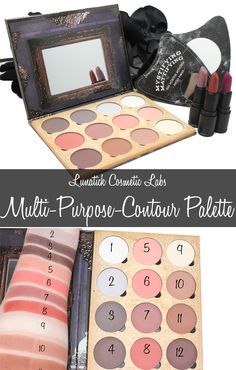 Courtney from Phyrra reviews the Lunatick Cosmetic Labs Multi-Purpose Contour palette. This palette can be used for contouring, highlighting, blush, brows and eyeshadow!