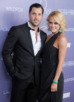 Pin for Later: Maksim Chmerkovskiy and Peta Murgatroyd's Romance Is as Sexy as Their Dance Moves  The couple made one of their first red carpet appearances together in 2012 at the Australians in Film Breakthrough Awards.