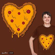 Pizza Love on Threadless