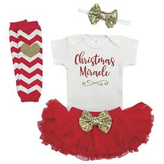 Baby Girl Christmas Outfit Baby First Christmas Outfit Newborn Christmas * Be sure to check out this awesome product.