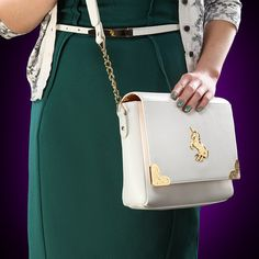Hold all of your essentials in this magical unicorn purse. | 32 Elegant Ways To Geekify Your Prom Outfit