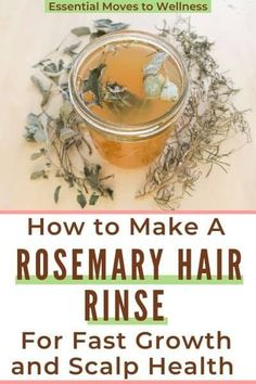 Want to grow your hair while clarifying your scalp? This rosemary hair rinse is fantastic for anyone looking to grow long, healthy hair. #rosemaryhairrinse #rosemaryhairspray #rosemaryforhairgrowth #diyhairgrowthrecipes Natural Hair Care Tips, Beauty Tips For Hair, Natural Beauty Tips, Clean Beauty, Diy Beauty, Help Hair Grow, How To Grow Your Hair Faster, How To Darken Hair, Fresh Hair