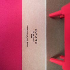 "package kraft paper & sealing wax stamp ""corriedale"" interior objet hard maple & brass & hand painting"