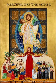 """Jubilee of Mercy Icon """"Merciful Like the Father""""  http://www.sacredimageicons.com/"""