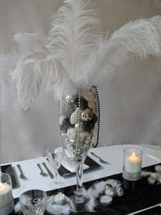 New Year's Eve - Black & White - Party Planning - Party Ideas - Cute Food - Holiday Ideas -Tablescapes - Special Occasions And Events - Party Pinching