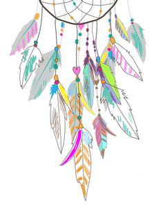 Colorful dreamcatcher