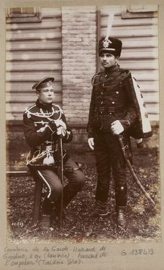 Russian military uniforms, 1892