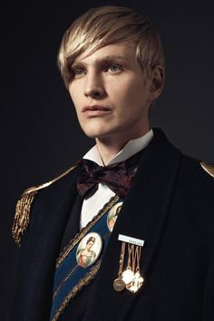.portrait brooches, sash
