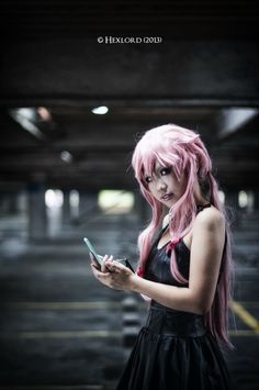 April 11 2013 Photoshoot Of Future Diary By Hexlord