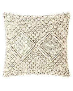 Shop Handmade Woven Pillow from Jamie Young at Horchow, where you'll find new lower shipping on hundreds of home furnishings and gifts. Down Pillows, Bed Pillows, Online Interior Design Services, Sun Hats For Women, Down Feather, Handmade Pillows, Handmade Shop, Neiman Marcus, Fabric