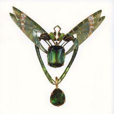 Art Nouveau Dragonfly, c.1900