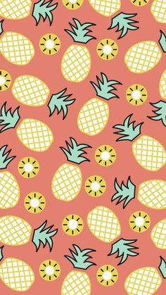 Ideas Wallpaper Iphone Pineapple Backgrounds For 2019 Cute Pineapple Wallpaper, Summer Wallpaper, Pastel Wallpaper, Trendy Wallpaper, New Wallpaper, Screen Wallpaper, Pineapple Backgrounds, Wallpaper Quotes, Iphone Background Wallpaper