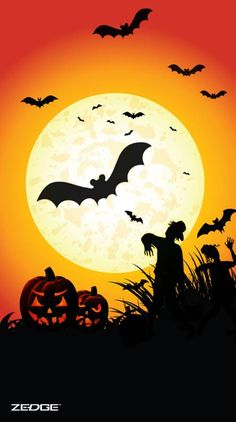 Search free halloween Wallpapers on Zedge and personalize your phone to suit you. Halloween Painting, Halloween Art, Holidays Halloween, Vintage Halloween, Halloween Pumpkins, Happy Halloween, Halloween Garland, Outdoor Halloween, Halloween Decorations