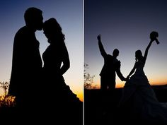 Silhouettes After Sundown
