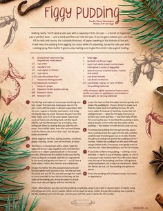 """Have you ever stopped to wonder, """"Wait, what exactly is figgy pudding?"""" We're here with the answer and a Figgy Pudding Recipe. Xmas Food, Christmas Cooking, Christmas Desserts, Holiday Treats, Christmas Treats, Holiday Recipes, Christmas Recipes, Family Recipes, Christmas Eve"""