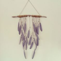 My Boho Luxe feather wall hanging #huntersalley