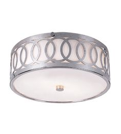 Trans Globe Lighting MDN-900 Modern Collection 2 Light 10 inch Polished Chrome Flush Mount Ceiling Light photo