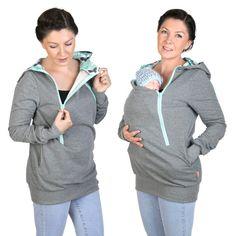 4 in 1 Maternity Pregnancy Sweatshirt Multifunctional Nursing Breastfeeding…