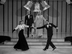 Bing Crosby, Marjorie Reynolds,Virginia Dale and Fred Astaire 1940s Movies, Old Movies, Old Hollywood Glamour, Classic Hollywood, New Year Movie, Christmas Movies, Holiday Movies, Christmas Time, Old Movie Stars