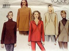 Hey, I found this really awesome Etsy listing at https://www.etsy.com/listing/181825648/vogue-basic-design-2506-top-pattern-size