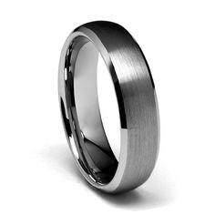 6mm Beveled Edge Cobalt Free Tungsten Carbide COMFORT-FIT Wedding Band Ring for Men and Women (Size 6 to 14) - Size 9 GoldenMine http://www.amazon.com/dp/B009KS9BZS/ref=cm_sw_r_pi_dp_R4zWub0KW0MPP