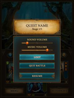 Game user interface