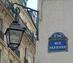 rue Payenne - Paris 3ème