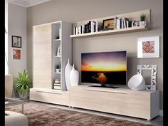 Simple living room tv wall design units for living room designs gorgeous modern living room wall Built In Tv Cabinet, Modern Tv Cabinet, Tv Cabinet Design, Modern Tv Wall Units, Tv Unit Design, Tv Wall Design, Modern Wall, Shelf Design, Wall Units For Tv