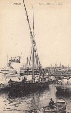 MARSEILLE 164 écrite 1910 voilier tartane débarquant le sable écrite 1915 | Collections, Cartes postales, France: Provence, Côte-d'Azur | eBay!