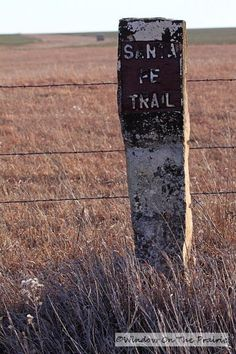 Click here to visit the old Santa Fe Trail. Take a trip back in time.