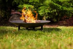Palenisko ogrodowe misa duża Grill, Outdoor Decor, Camping, Home Decor, Fire Ring, Gardening, Campsite, Homemade Home Decor, Interior Design