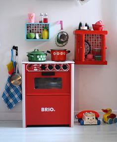 Hieno lastenhuoneen keittiönurkkaus