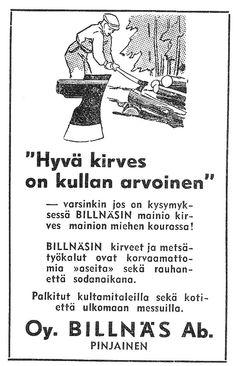 IJL - Vanhat mainokset 1940 - 1950