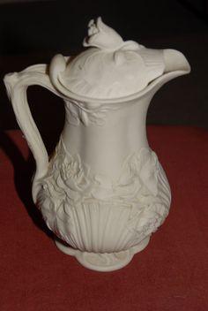 John Rose Parian Ware water jug c1849