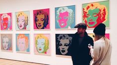 Moma Warhol Paintings, Aaron Paul, Andy Warhol, Moma, In This Moment, Instagram Posts, Art, Art Background, Kunst