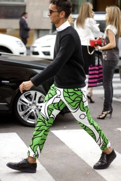 trousers in marimekko upholstery fabric South Africas Most Fashionable