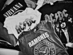 i am, at heart, a band shirt and jeans kinda girl.