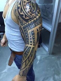 polynesian tattoos on white guys