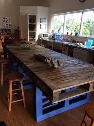 Resultado de imagen para mesas con palets para comedor