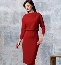 Pattern Reviews> Vogue Patterns> 1460 (Misses' Dress)