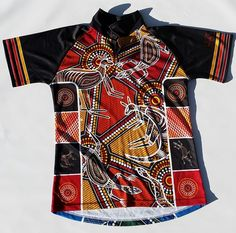 Aboriginal Shirt for sale online at http://www.kulture.biz/store/