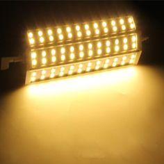 R7S 15W 72 LEDs 5050 SMD Energy Saving Light Bulb Lamp 189mm Warm White 100-240V Replace Halogen Floodlight