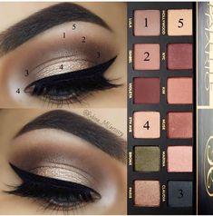 natural eye makeup for blue eyes Dramatic Eye Makeup, Eye Makeup Steps, Eye Makeup Art, Makeup Tips, Beauty Makeup, Makeup Tutorials, Fall Eyeshadow, Eyeshadow Makeup, Makeup Tutorial Eyeliner