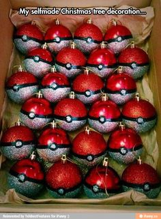 Poke-balls decoration