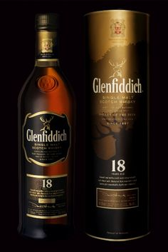 Glenfiddich 18yo Single Malt Scotch Whiskey