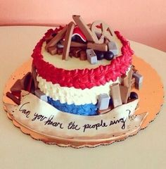 Barricade les miserables cake. I WANT IT!!