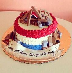 Barricade les miserables cake. I WANT IT!!