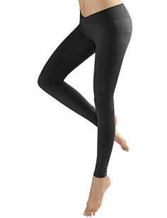 Yoga Reflex Womens Vcut Waist Workout Running Yoga Leggings Pants XS2XL  Black  Medium >>> Continue to the product at the image link. (This is an affiliate link) Running Leggings, Women's Leggings, Leggings Are Not Pants, Waist Workout, V Cuts, Active Wear For Women, Yoga Fitness, Fashion Brands, Topshop