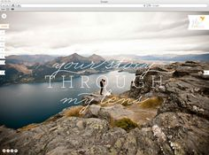 Julie Wilhite Website & Brand Extension by Cody Small, via Behance